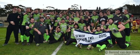 Division Two Champion Pakenham Silverbacks